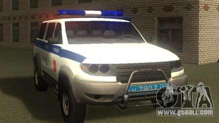 UAZ Patriot of the Police v1 for GTA San Andreas