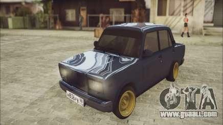 VAZ 2107 Black Jack for GTA San Andreas