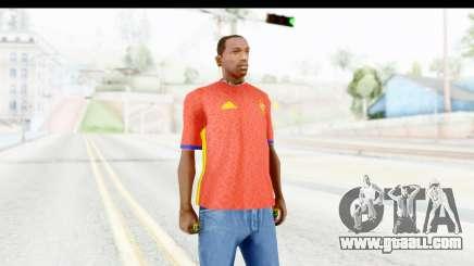 Spain Home Kit 2016 for GTA San Andreas