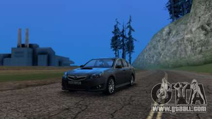 Subaru Legacy 2010 for GTA San Andreas