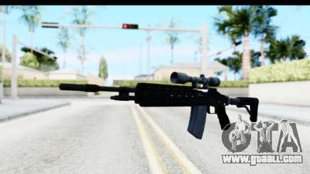 GTA 5 Vom Feuer Marksman Rifle for GTA San Andreas