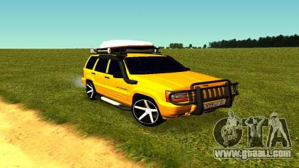 Jeep Grand Cherokee for GTA San Andreas