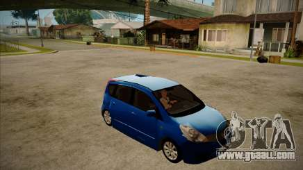 Nissan Note 2008 for GTA San Andreas