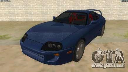 Toyota Supra Tunable for GTA San Andreas