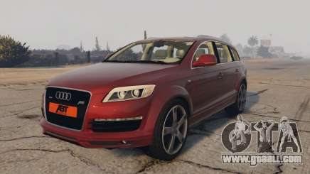 Audi Q7 AS7 ABT 2009 for GTA 5