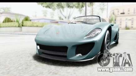 GTA 5 Pfister 811 for GTA San Andreas