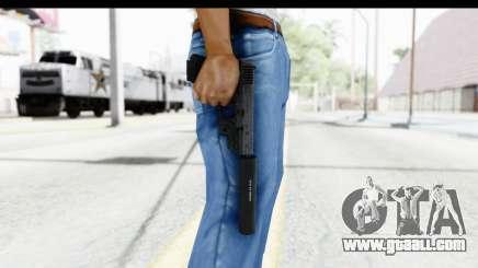 Glock P80 Silenced for GTA San Andreas