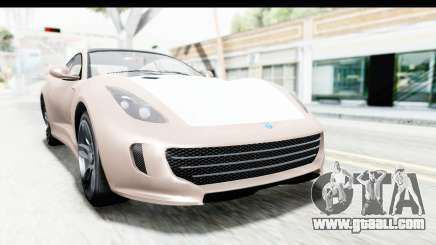 GTA 5 Grotti Bestia GTS with MipMap for GTA San Andreas