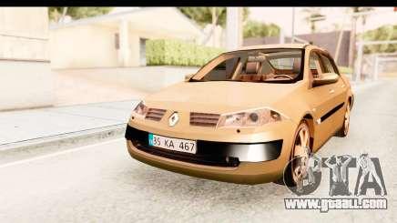 Renault Megane 2 Sedan 2003 for GTA San Andreas