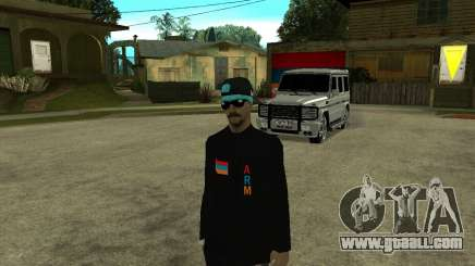 Armenian Skin for GTA San Andreas