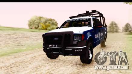 Ford F-150 Policia Federal for GTA San Andreas