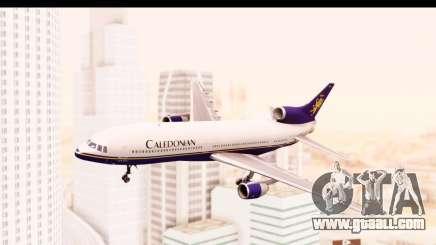 Lockheed L-1011-100 TriStar Caledonian for GTA San Andreas
