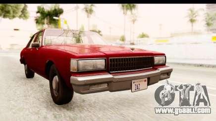 Chevrolet Caprice 1987 for GTA San Andreas