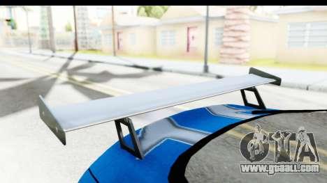 NFS: Carbon Darius Toyota Supra Updated for GTA San Andreas inner view