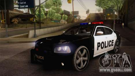 Dodge Charger SRT8 Police San Fierro for GTA San Andreas