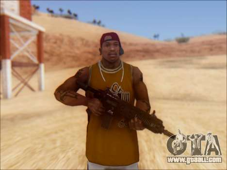 GTA 5 Vom Feuer Carbine Rifle for GTA San Andreas second screenshot