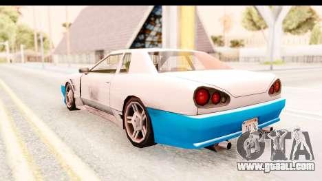 20egt Elegy for GTA San Andreas wheels