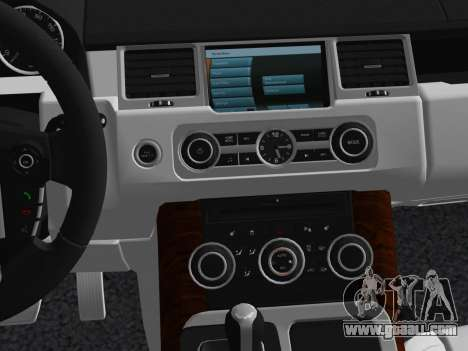 Range Rover Sport HSE (Rims 1) v2.0 for GTA Vice City upper view