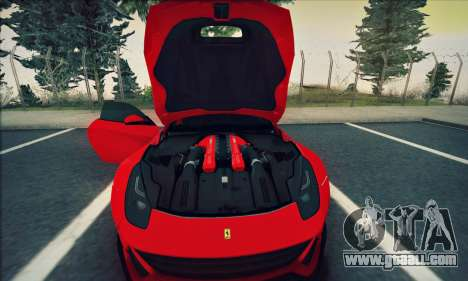 Ferrari F12 Berlinetta for GTA San Andreas right view