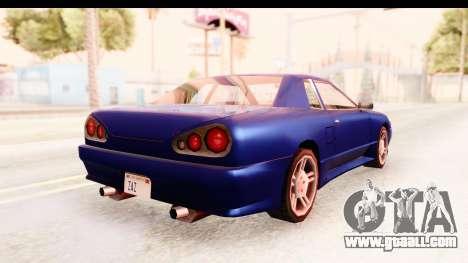 20egt Elegy for GTA San Andreas left view