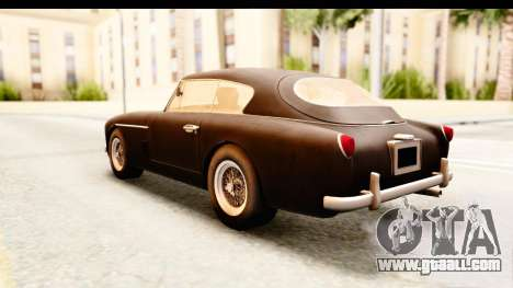 Aston Martin DB2 Mk II 39 1955 for GTA San Andreas right view