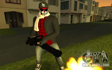 GTA Online Skin for GTA San Andreas