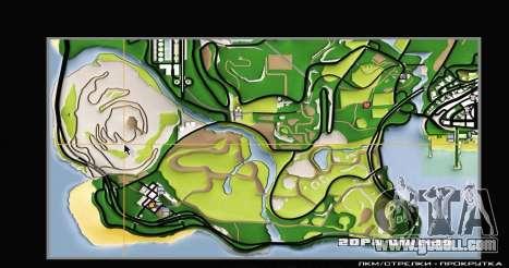 Remaster Map Full Version for GTA San Andreas forth screenshot