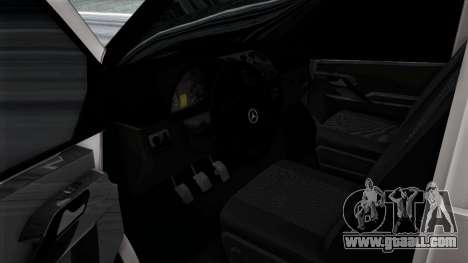 Mercedes-Benz Vito for GTA San Andreas interior