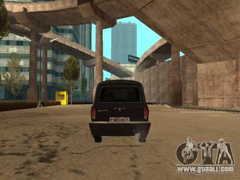 GAZ 310221 for GTA San Andreas back view