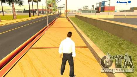 Endless running for GTA San Andreas