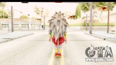 Dragon Ball Xenoverse Broly SSJ5 for GTA San Andreas third screenshot