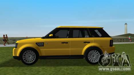 Range Rover Sport HSE (Rims 1) v2.0 for GTA Vice City left view