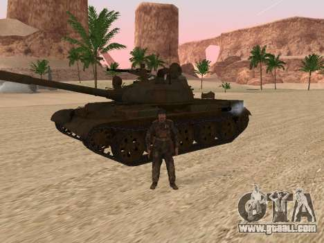 T-62 for GTA San Andreas