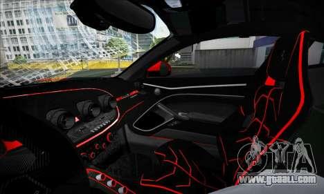 Ferrari F12 Berlinetta for GTA San Andreas side view