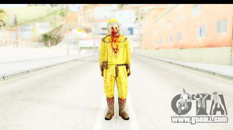 Zombie Radioactivo for GTA San Andreas second screenshot