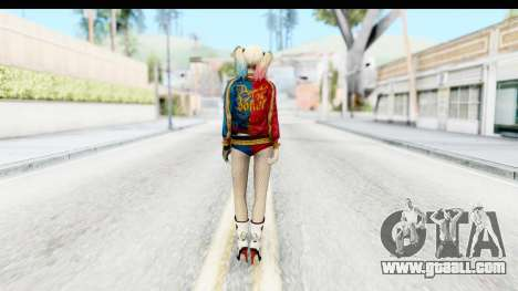 Suicide Squad - Harley Quinn for GTA San Andreas third screenshot