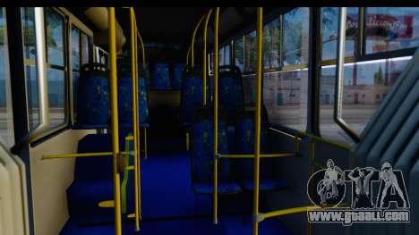 Metrobus de la Ciudad de Mexico Trailer for GTA San Andreas back view