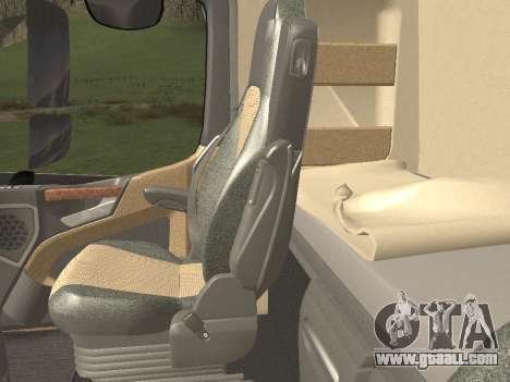Mercedes-Benz Actros Mp4 4x2 v2.0 Steamspace v2 for GTA San Andreas bottom view