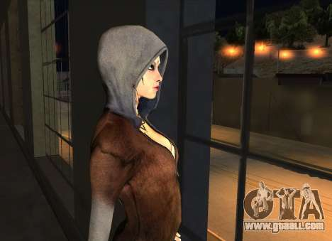 Kat from DMC for GTA San Andreas forth screenshot