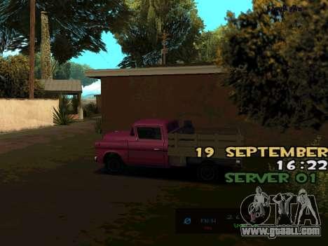 C-HUD BREZZ for GTA San Andreas third screenshot