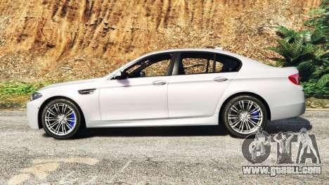 GTA 5 BMW M5 (F10) 2012 [add-on] left side view
