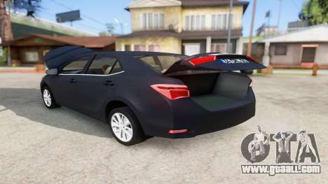 Toyota Corolla 2014 HQLM for GTA San Andreas