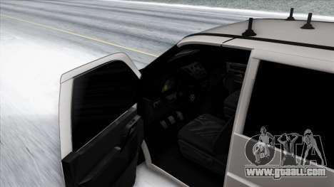 Mercedes-Benz Vito for GTA San Andreas bottom view