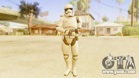 Star Wars Ep 7 First Order Trooper for GTA San Andreas third screenshot