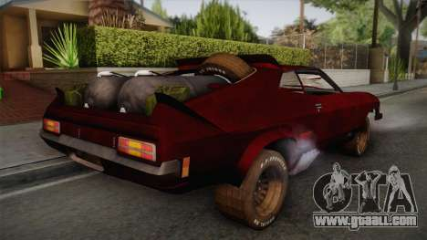 Ford Falcon XB Last V8 Mad Max 2 for GTA San Andreas left view