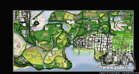Remaster Map Full Version for GTA San Andreas sixth screenshot