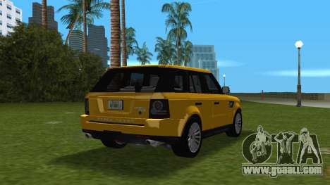 Range Rover Sport HSE (Rims 1) v2.0 for GTA Vice City right view