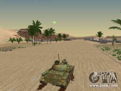 T-62 for GTA San Andreas interior