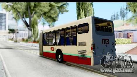 Metrobus de la Ciudad de Mexico Trailer for GTA San Andreas left view