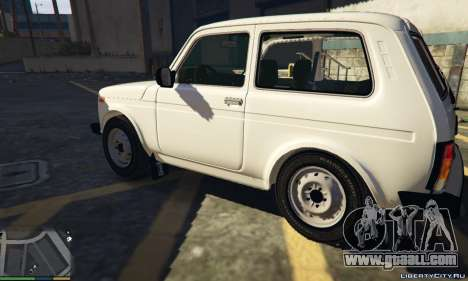 GTA 5 Lada Niva 21214 Final v1.3 left side view